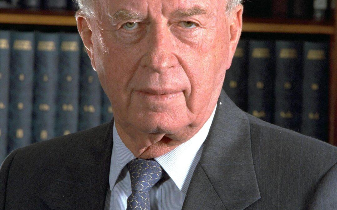 Assassination of Yitzhak Rabin